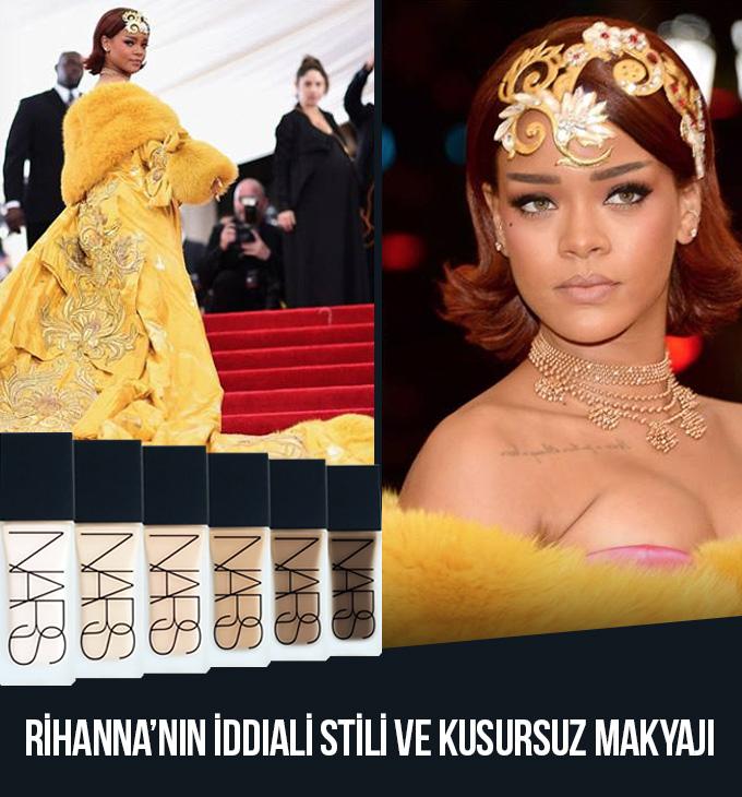 RIHANNA MET GALA 2015'TE NARS'I TERCİH ETTİ!