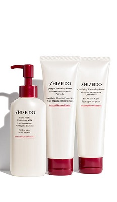 Shiseido exftra rich cleansing foam