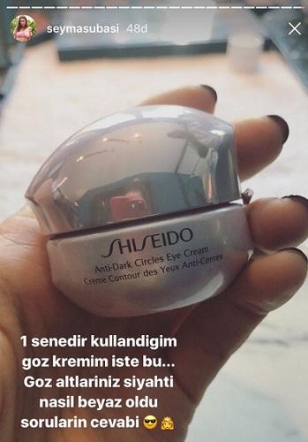 shiseido anti dark şeyma subaşı
