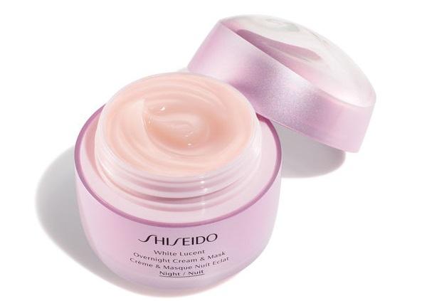 Shiseido White Lucent Overnight Cream&Mask