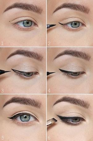 İnce eyeliner çekmenin püf noktaları